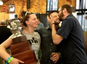 2013 TAP NY Governor's Cup for Best Beer in New York State~ PB's Higher Standard.